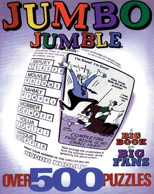 Jumbo Jumble: A Big Book for Big Fans 9781572433144