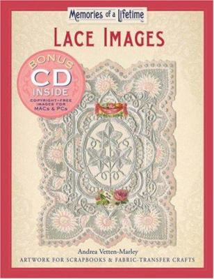 Lace Images: Artwork for Scrapbooks & Fabric-Transfer Crafts [With CDROM]
