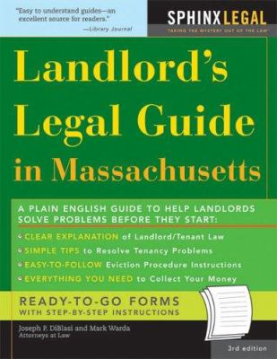 Landlord's Legal Guide in Massachusetts 9781572485686