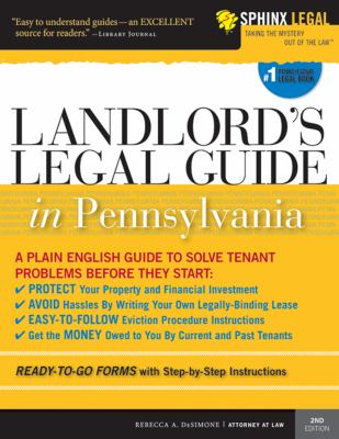 Landlord's Legal Guide in Pennsylvania 9781572486669