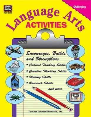 Language Arts Activities 9781576903490