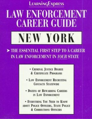 Law Enforcement Career Guides: New York 9781576850077