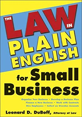 Law in Plain English for Small Business 9781572483774