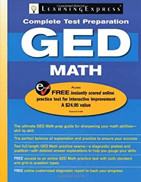 LearningExpress's GED Math [With Access Code]