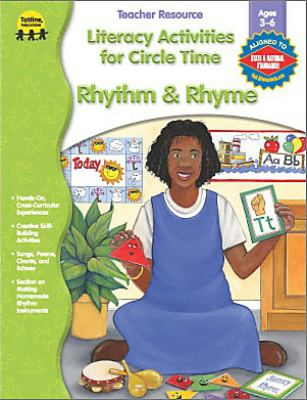 Literacy Activities for Circle Time: Rhythm and Rhyme 9781570294792