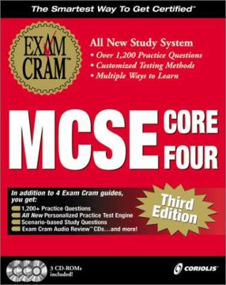MCSE Core Four Exam Cram Pack [With 3] 9781576106228