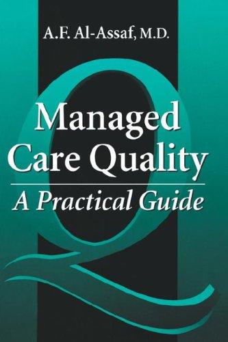 Managed Care Quality 9781574440737