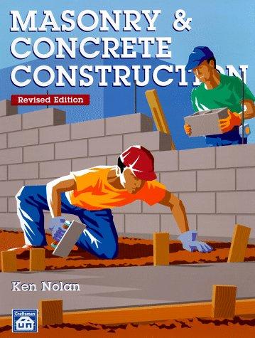 Masonry & Concrete Construction 9781572180444