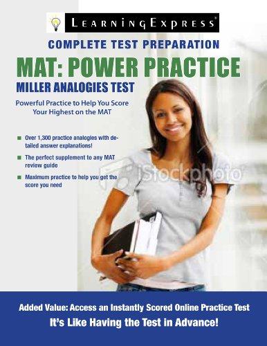 MAT: Power Practice 9781576857748