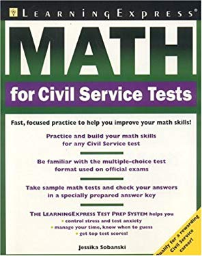 Math for Civil Service Tests 9781576854280