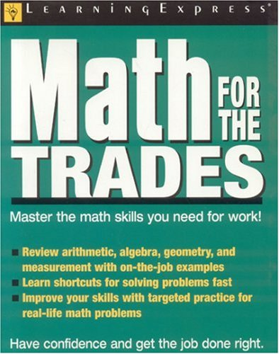 Math for the Trades 9781576855157