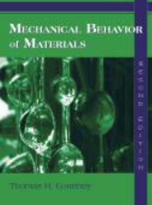 Mechanical Behavior of Materials 9781577664253