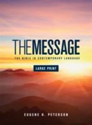Message Bible-MS-Large Print Numbered