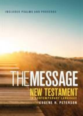Message Pocket New Testament Psalms and Proverbs-MS 9781576839379