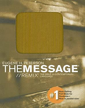 Message Remix Pocket Bible-MS 9781576838242