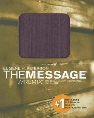 Message Remix Pocket Bible-MS 9781576838679