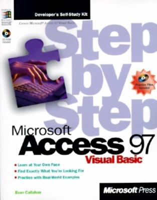 Microsoft Access 97 Visual Basic Step by Step [With CDROM] 9781572313194