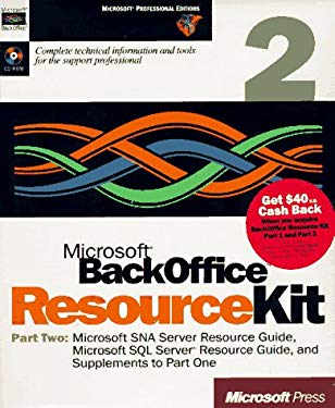 Microsoft BackOffice Resource Kit 9781572315341