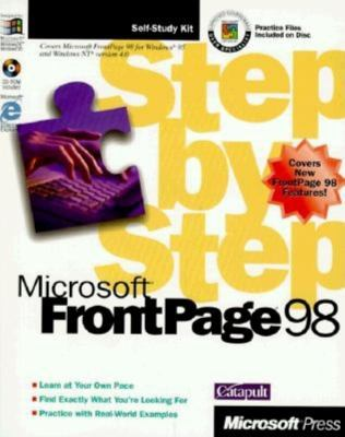 Microsoft FrontPage 98 Step by Step [With *] 9781572316362