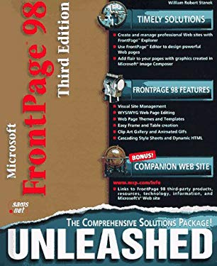 Microsoft FrontPage 98 Unleashed: The Comprehensive Solutions Package 9781575213491