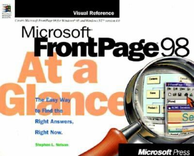 Microsoft FrontPage 98 at a Glance 9781572316379