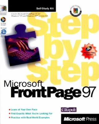 Microsoft FrontPage Step by Step, [With CDROM] 9781572313361