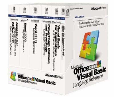 Microsoft Office 2000 Visual Basic Language Reference 9781572319554