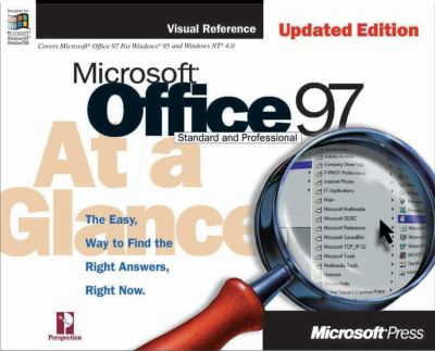 Microsoft Office 97 at a Glance, Updated Edition 9781572318915