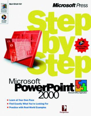 Microsoft PowerPoint 2000 Step by Step [With *] 9781572319721