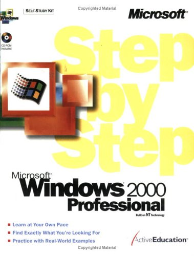 Microsoft Windows 2000 Professional Step by Step [With CD-ROM] 9781572318472