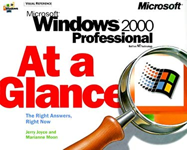 Microsoft Windows 2000 Professional at a Glance 9781572318397