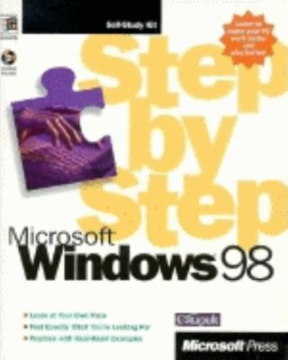Microsoft Windows 98 Step by Step [With Includes Practice Files Integrated with Lessons] 9781572316836