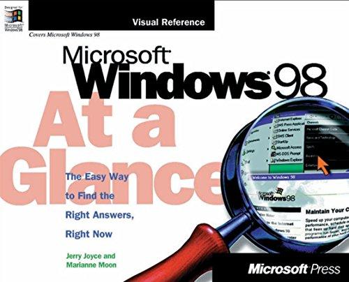 Microsoft Windows 98 at a Glance 9781572316317