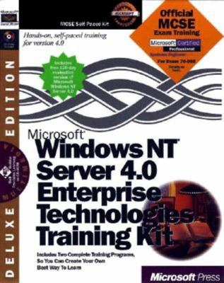 Microsoft Windows NT Server 4.0 Enterprise Technologies Training [With *] 9781572318298