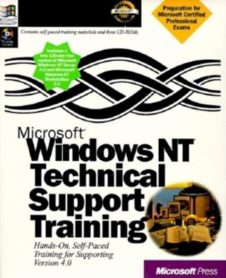 Microsoft Windows NT Technical Support Training [With CDROM]