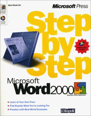 Microsoft Word 2000 Step by Step [With *] 9781572319707