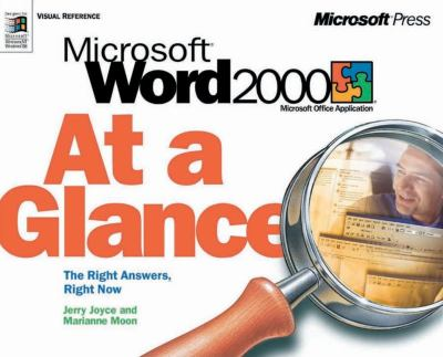 Microsoft Word 2000 at a Glance 9781572319400