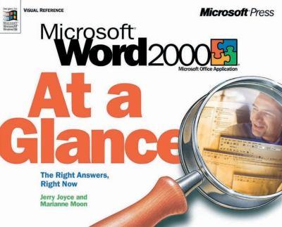 Microsoft Word 2000 at a Glance 9781572319400