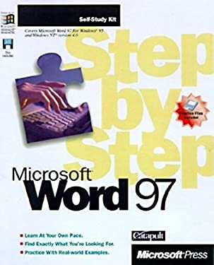 Microsoft Word 97 Step by Step Complete Course [With *] 9781572315792