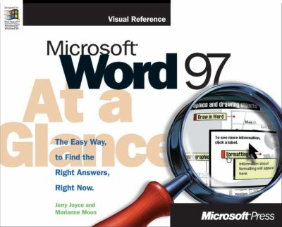 Microsoft Word 97 at a Glance 9781572313668