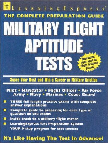 Military Flight Aptitude Test 9781576853566