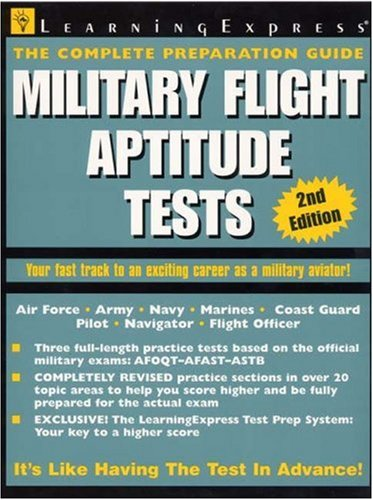 Military Flight Aptitude Tests 9781576854600
