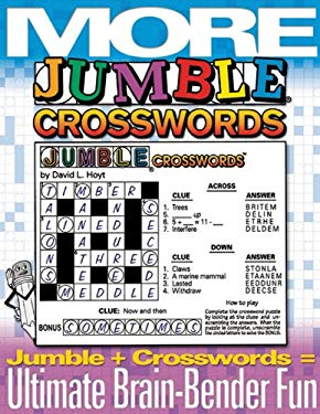 More Jumble Crosswords: Jumble + Crossword = Ultimate Brain-Bender Fun 9781572433861