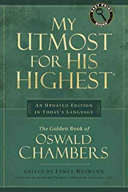 My Utmost for His Highest Updated Large Print