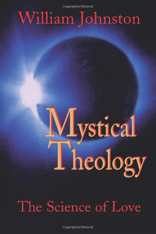 Mystical Theology: The Science of Love 9781570751752