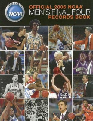 NCAA Men's Final Four Records Book 9781572437869