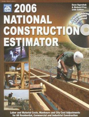 National Construction Estimator [With CDROM] 9781572181595