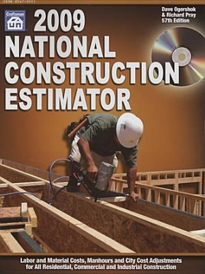 National Construction Estimator [With CDROM] 9781572182080