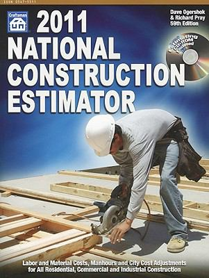 National Construction Estimator [With CDROM] 9781572182424