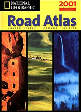 National Geographic Road Atlas: United States, Canada, Mexico 9781572625464